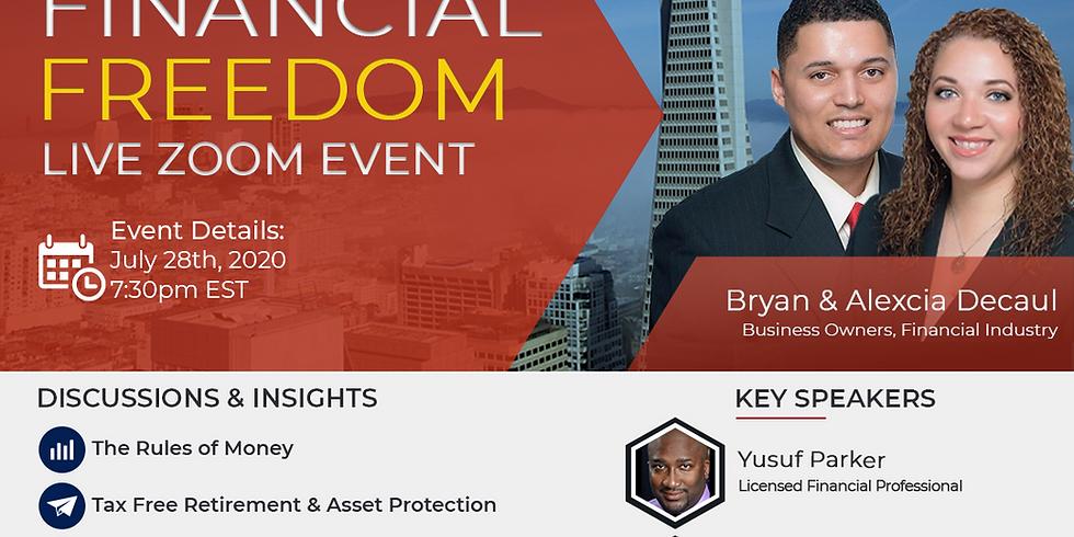 Financial Freedim Event