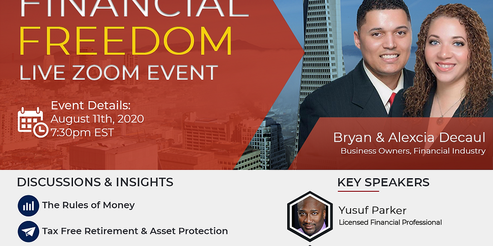 Financial Freedom Event