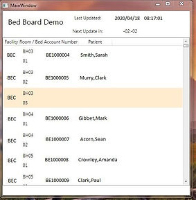 Bed Board App Using OpenGate