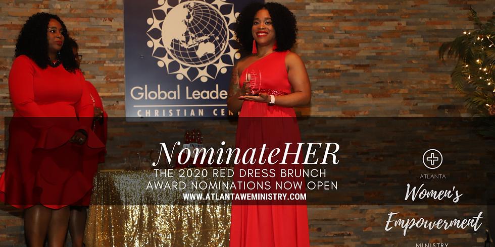Red Dress Brunch Awards 2020