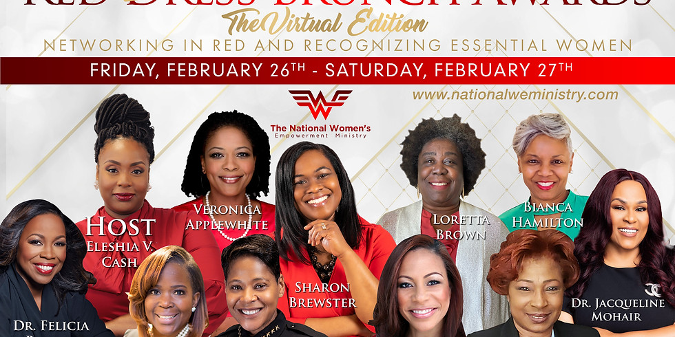 2021 Red Blouse Brunch - Virtual Edition