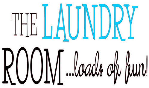 THE LAUNDRY ROOM...LOADS OF FUN!  16 X 12
