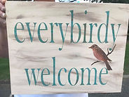 DIY Pallet Sign Birds