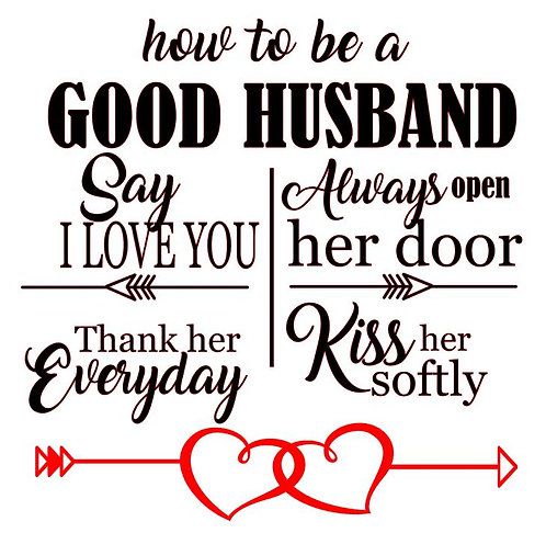 HOW TO BE A GOOD HUSBAND 12X12