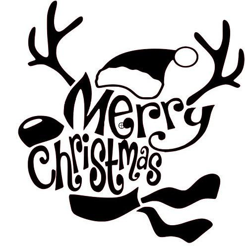 MERRY CHRISTMAS 12 X 12