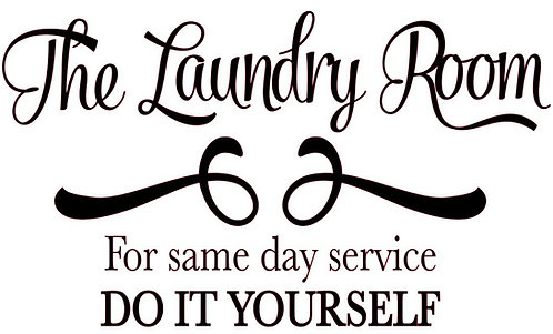 THE LAUNDRY ROOM FOR SAME DAY SERVICE 18 X 12