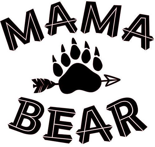 MAMA BEAR 12 X 12