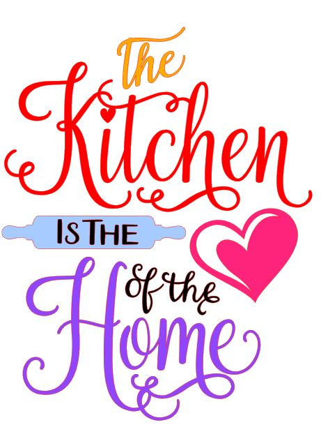 THE KITCHEN IS THE HEART OF THE HOME 12 X 16