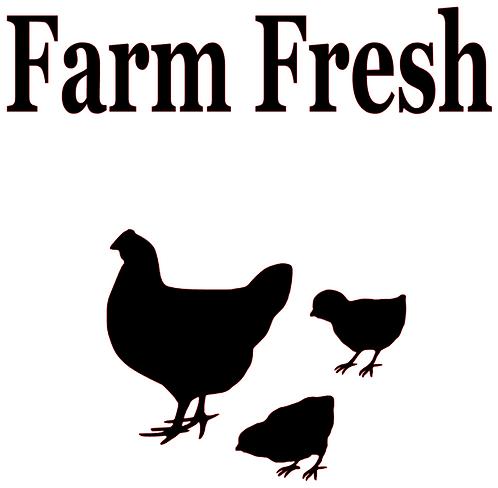 SAYING - FARM FRESH