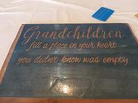 DIY Pallet Signs Grandchildren