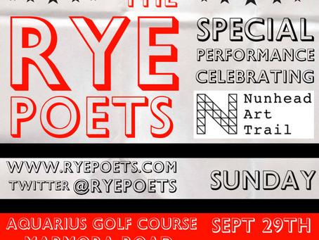 Rye Poets on Sunday 3pm