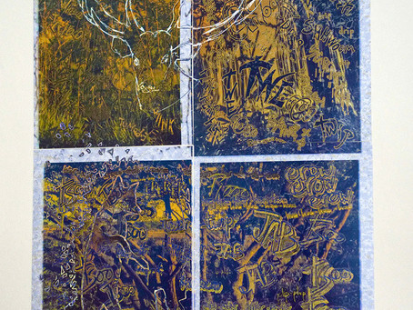 Collages from Knepp, Sussex