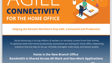 Infographic: Home Office Connectivity with SD-WAN