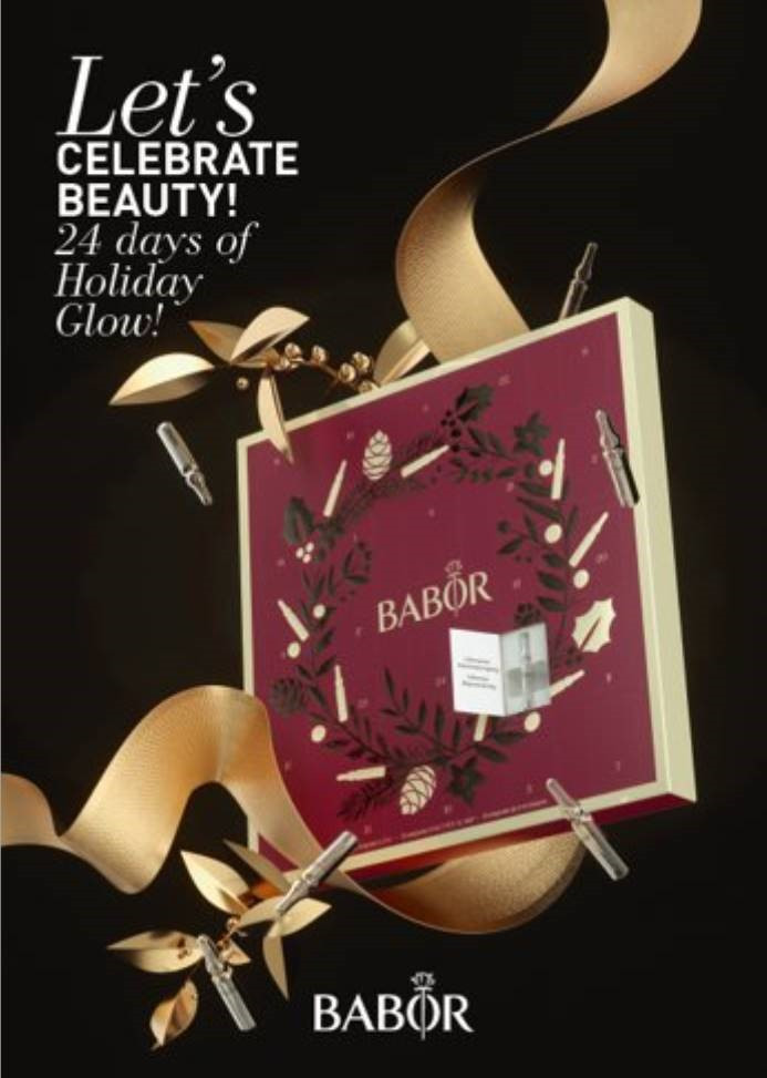 The much anticipated Babor Holiday Calendar is on its way..... Pre Order yours today to avoid dissapointment.