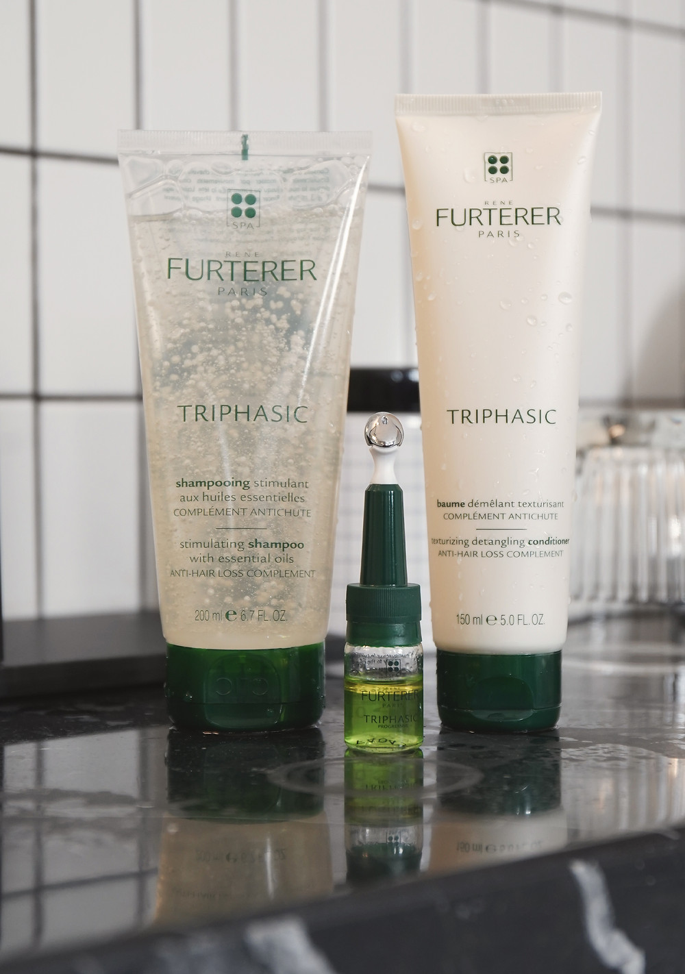 This product combined with Complex 5, Triphasic shampoo and conditioner is your best option to prevent hair loss and keep the hair you have grow healthier and fuller.