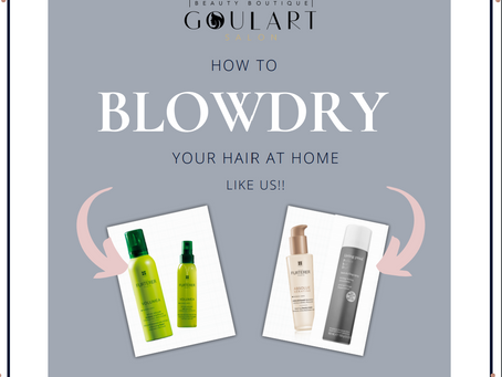How to Blowdry your hair at home like a PRO!
