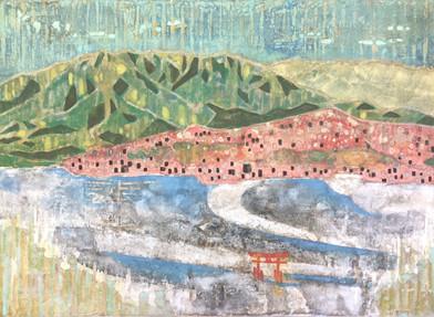 宮島からの風景