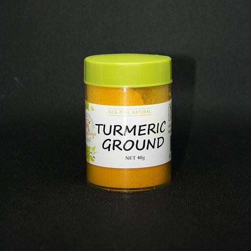 Turmeric Ground Small Jar 40g