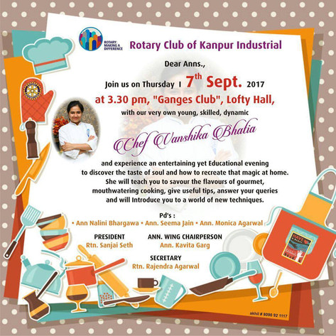 Rotary Club Workshop