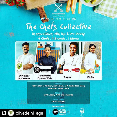 Chef's Collective Dinner, Ek Bar
