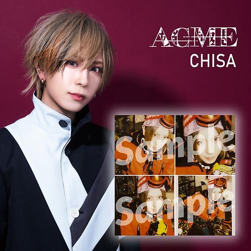 ACME CHISA Ski Cheki 4-Set (Autographed)