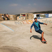 Skate park at taghazout