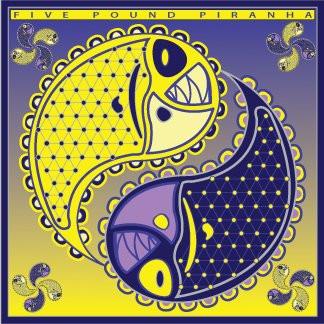 5-lb Piranha CD design