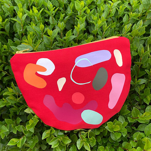 ABSTRACT SHAPES IV. pouch