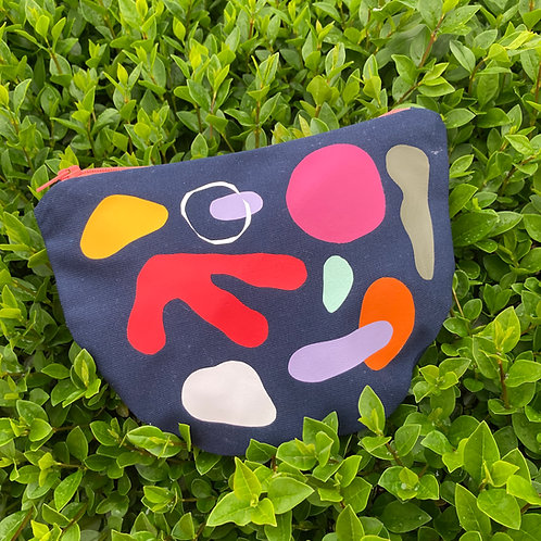 ABSTRACT SHAPES III. pouch