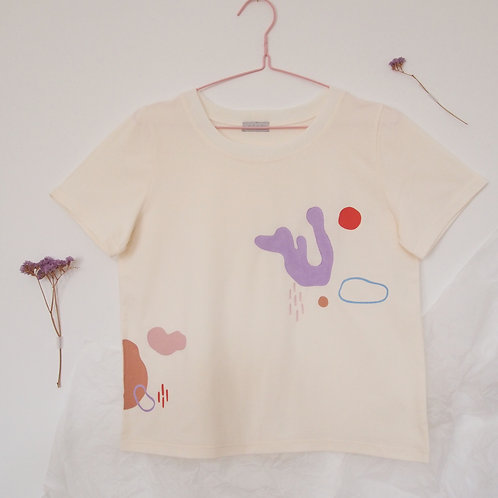 HANDPAINTED SHAPES tee