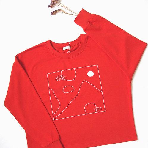 ABSTRACT LANDSCAPE II. sweatshirt