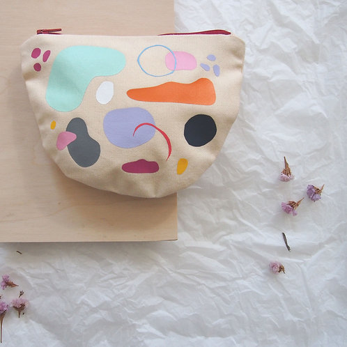 ABSTRACT SHAPES II. pouch