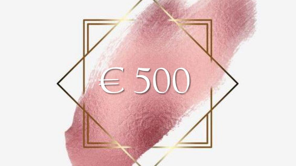 Gift Card € 500
