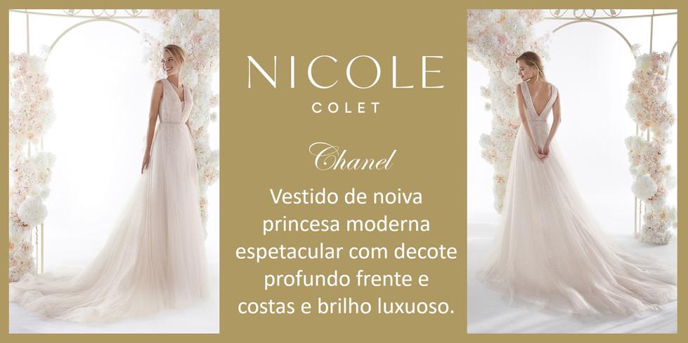 Chanel da coleção Nicole Colet