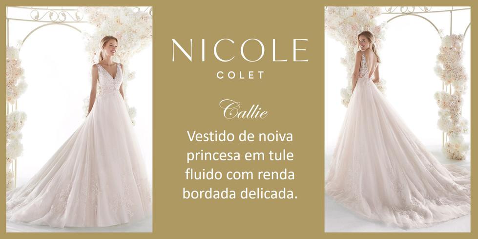 Callie da coleção Nicole Colet