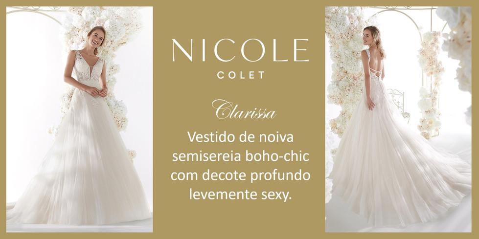 Clarissa da coleção Nicole Colet