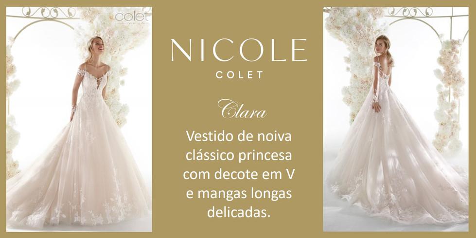 Clara da coleção Nicole Colet