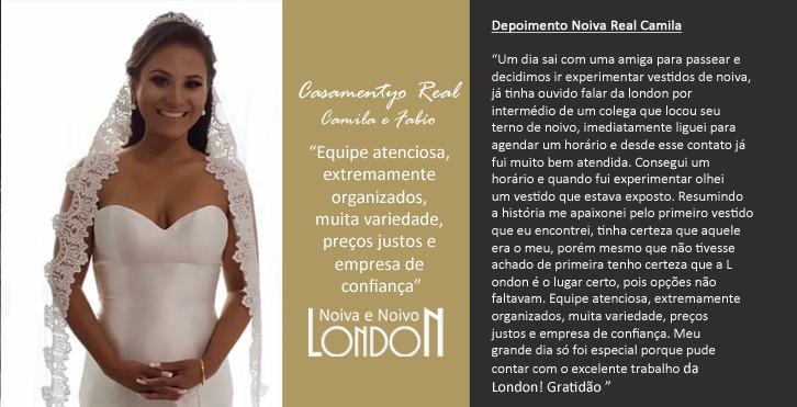 Casamento Real Camila e Fabío