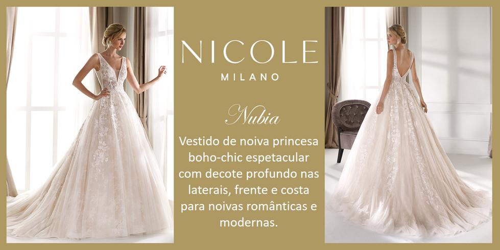 Nubia da coleção Nicole Milan