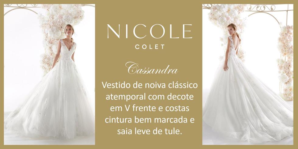 Cassandra da coleção Nicole Colet
