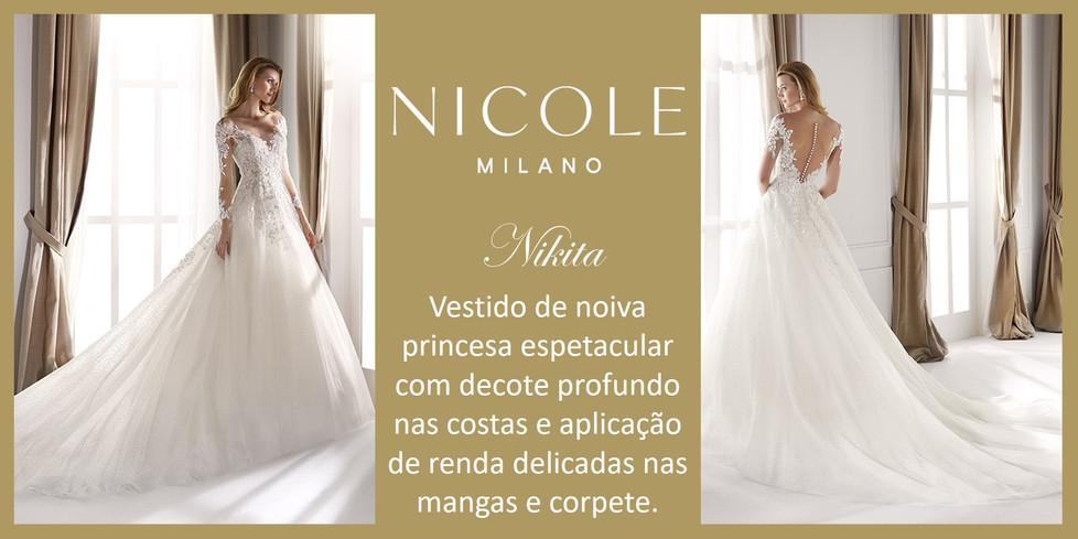 Nikita da coleção Nicole Milan
