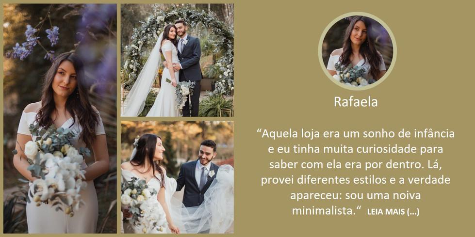 Depoimento Noiva Rafaela