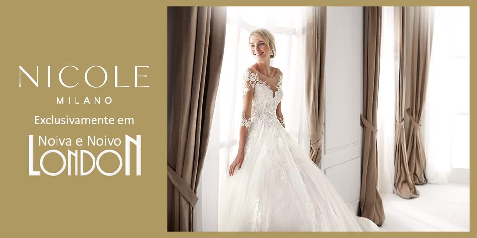 Vestidos de Noiva - Nicolette