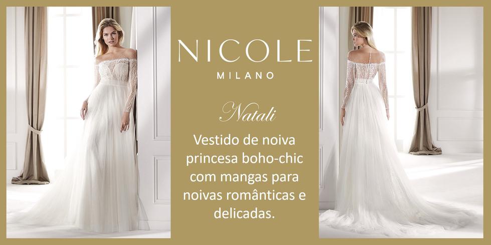 Natali da coleção Nicole Milan