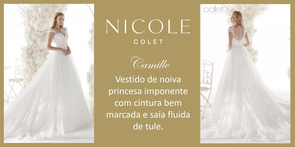 Camille da coleção Nicole Colet
