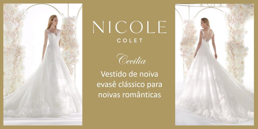 Cecilia da coleção Nicole Colet