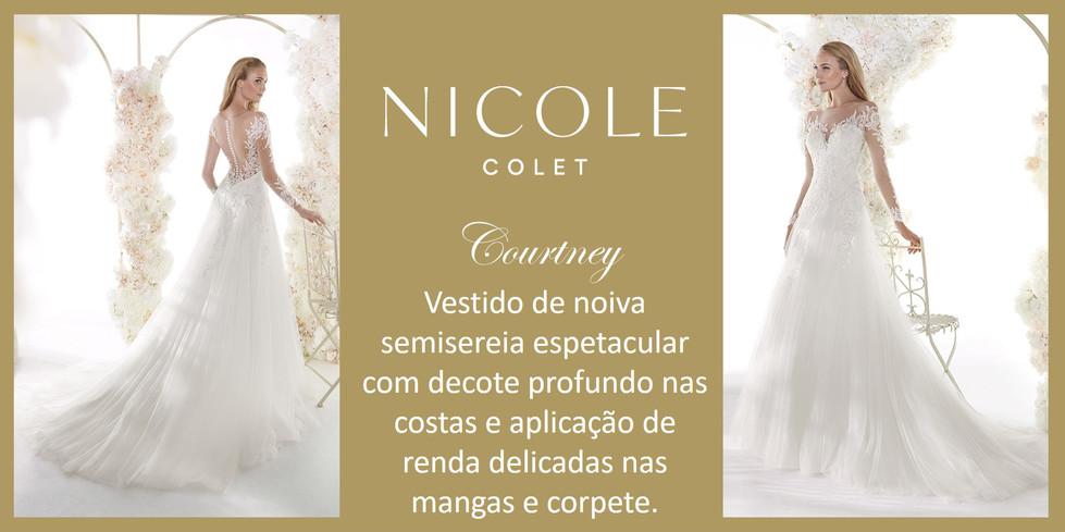 Courtney da coleção Nicole Colet