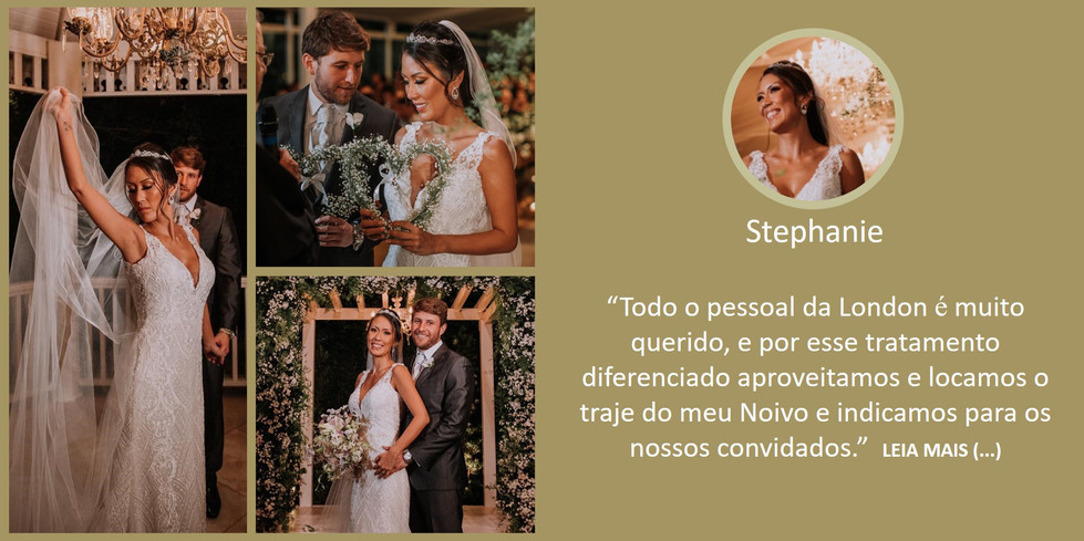 Depoimento Noiva Camila Stephanie