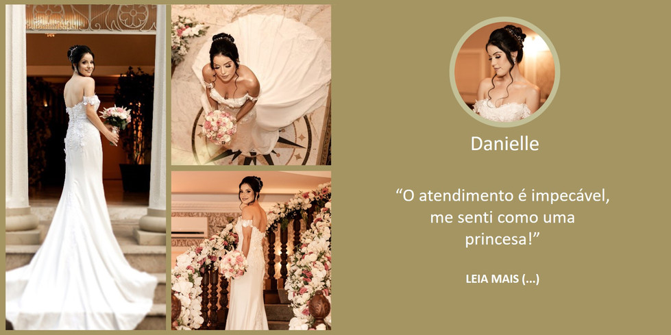 Depoimento Noiva Danielle
