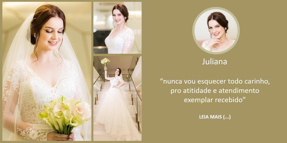 Depoimento Noiva Juliana